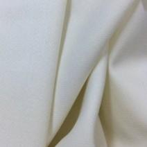 Tissu crêpe de laine envers satin blanc
