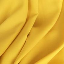 tissu crepe de laine jaune