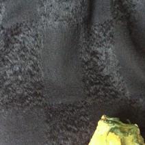 tissu d'ameublement noir