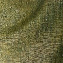 Tissu lin kaki chiné