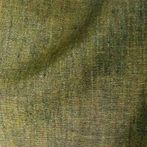 Tissu lin chambray kaki