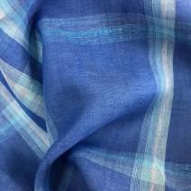 tissu ecossais lin