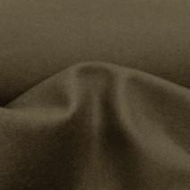 tissu laine marron foncé