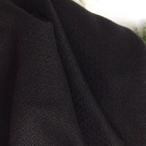 Tissu polypropylène cannage noir