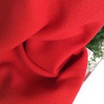 Tissu polypropylène cannage rouge