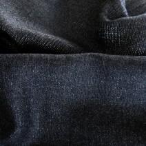Tissu flanelle de laine gris foncé avec éclat de