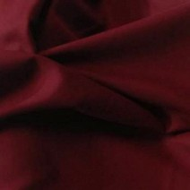 Tissu flanelle de laine peignée rouge foncé