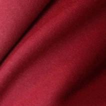 Tissu flanelle de laine peignée rouge