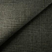 Tissu flanelle peignée Prince de Galles