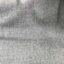 Tissu flanelle peignée gris clair