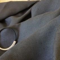tissu gris lin