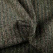Tissu de laine rayures