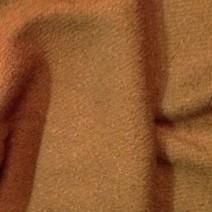Tissu laine bouillie uni Camel