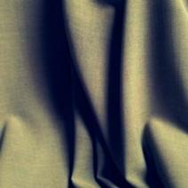 Tissu laine toile voilage kaki