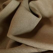 tissu voilage laine beige camel