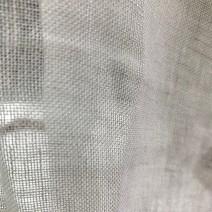 voilage au metre tissu blanc