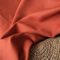 Tissu lin de qualité orange