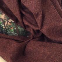 tissu marron tissus ameublement