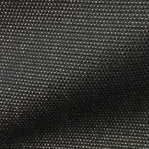 Tissu noir cuivré brillant