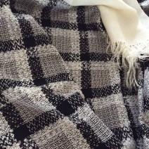 tweed noir et blanc