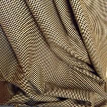 tissu jaune et noir