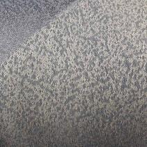 Tissu en polyester trevira gris et jaune tissu jacquard