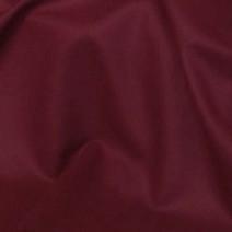 Tissu polyester laine uni bordeaux extensible
