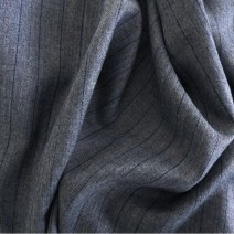 tissu polyester laine à rayures tennis, tailleur
