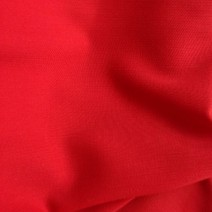 Tissu polyester laine crepe double rouge