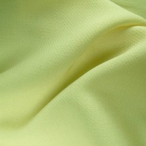 Tissu polyester laine crepe vert