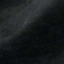 Tissu polyester noir effet peau de pêche