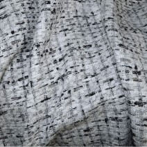 Tissu tweed contemporain