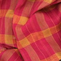 tartan coloré pour couture