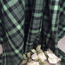 tissu tartan vert