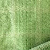 Tissu tweed de laine vert anis