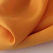 tissu viscose tissu jaune coquelicot