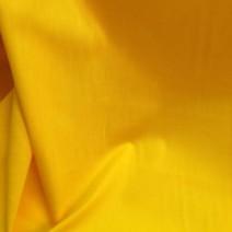 Tissu coton popeline jaune