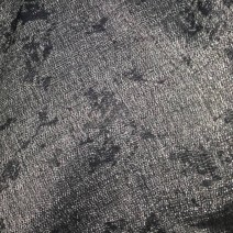 Tissu laine noir et blanc