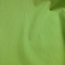Tissu coton popeline vert anis