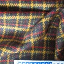 Tissu de laine écossais Marron