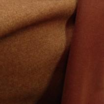 tete de lit tissu cuivré double face 2 tons