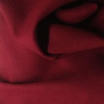 Rideau voilage tissu au metre drap de laine rouge