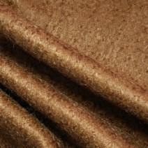 Drap de laine mohair cuivre