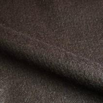 Drap de laine à poils mohair brun
