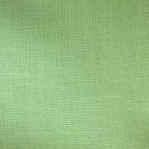 Bâche de tissu en lin vert
