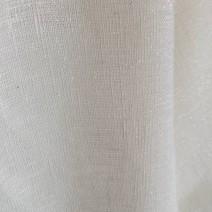 Tissu lin toile brillante tissu blanc