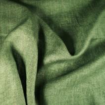 Tissu en lin kaki