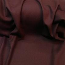 Tissu laine bouillie bordeaux