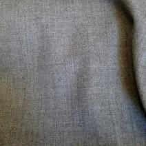 Tissu polyester laine flanelle gris pour jupes, pantalons, vestes
