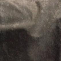 Tissu polyester M1 gris effet peau de pêche